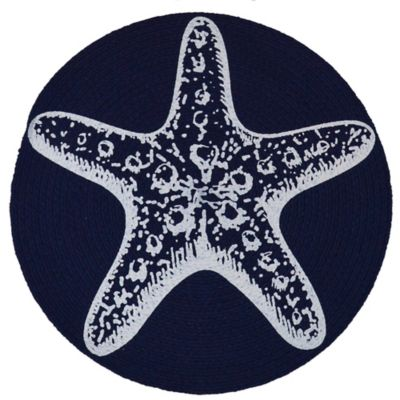 Braided Star Fish Placemat