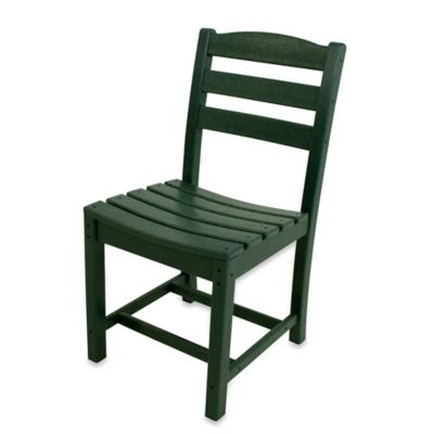 POLYWOOD® La Casa Café Dining Side Chair in Green
