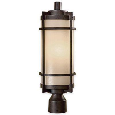 Minka Lavery® Andrita Court™ Post-Mount Outdoor Light in Bronze