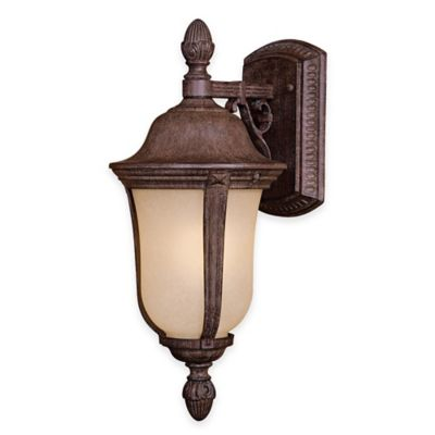 Minka Lavery® Ardmore™ 1-Light Outdoor Wall Sconce in Vintage Rust™