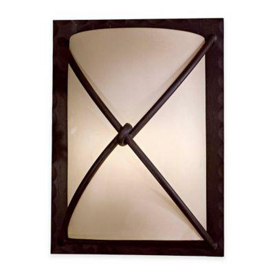 Minka Lavery® Aspen™ II 1-Light Wall-Mount Outdoor Pocket Lantern in Aspen Bronze™