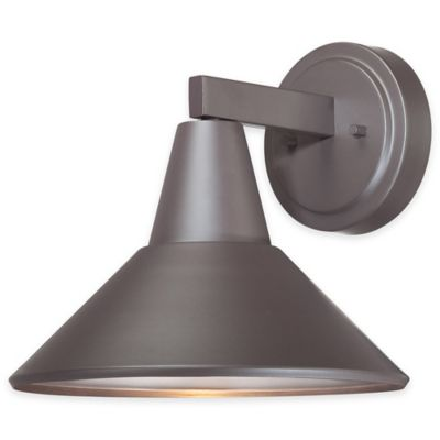 Minka Lavery® Bay Crest Wall-Mount Outdoor Light in Bronze