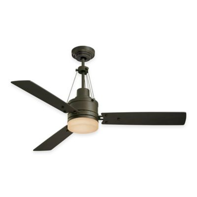 Emerson Highpointe 54-Inch 2-Light Ceiling Fan in Golden Espresso with Remote Control