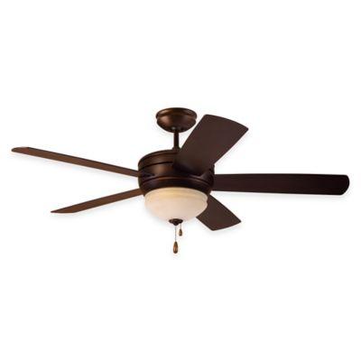 Emerson Summerhaven 52-Inch 3-Light Indoor/Outdoor Ceiling Fan in Golden Espresso