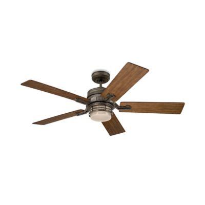 Emerson Amhurst 54-Inch 2-Light Ceiling Fan in Vintage Steel