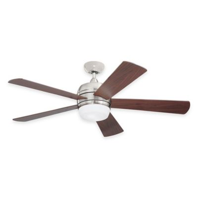 Emerson Atomical 52-Inch 2-Light Indoor/Outdoor Ceiling Fan in Appliance White with Remote Control