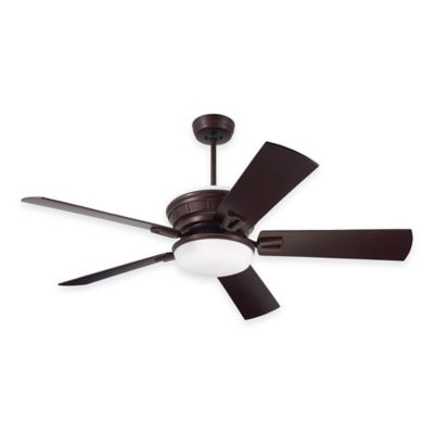 Emerson Portland Eco 54-Inch Light Ceiling Fan in Venetian Bronze with Remote Control