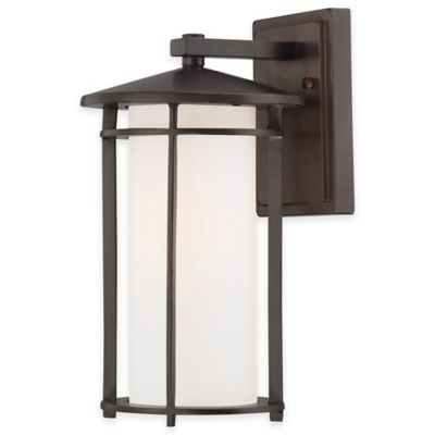 Minka Lavery® Addison Park Wall-Mount Outdoor 12.5-Inch Light in Bronze