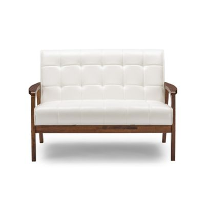 Baxton Studio Mid-Century Masterpieces Loveseat Furniture