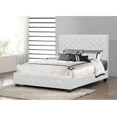 Baxton Studio Manchester Modern Platform Full Bed in White