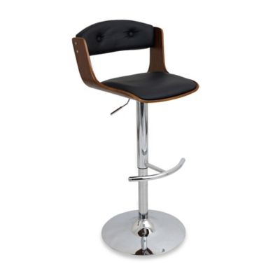 LumiSource Scucci Barstool in Black
