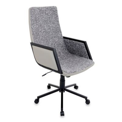 LumiSource Governor Office Chair in Charcoal