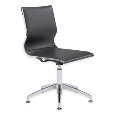 Zuo® Glider Conference Chair in Black