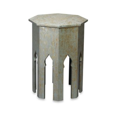 Jamie Young Small Tangier Table in Silver