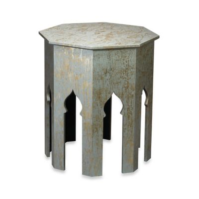 Jamie Young Large Tangier Table in Silver