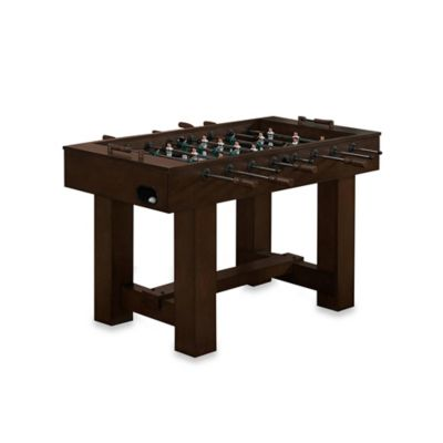 Brown Foosball Table