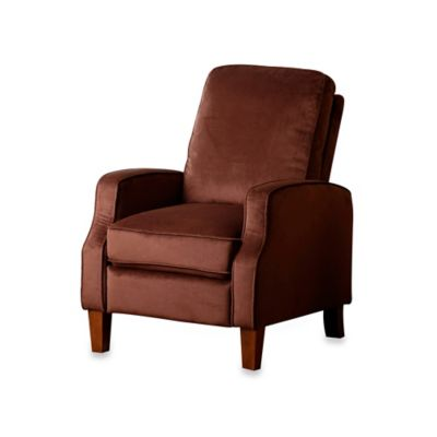 Buy Abbyson Living 174 Cliff Leather Pushback Recliner From