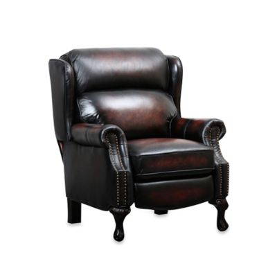 Abbyson Living® Veda Leather Pushback Recliner