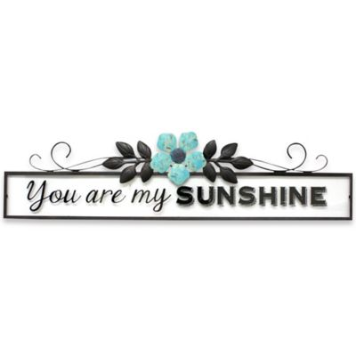 """Jazen """"You Are My Sunshine"""" Wall Art Plaque"""