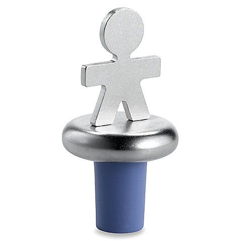 Alessi Girotondo Man Bottle Stopper