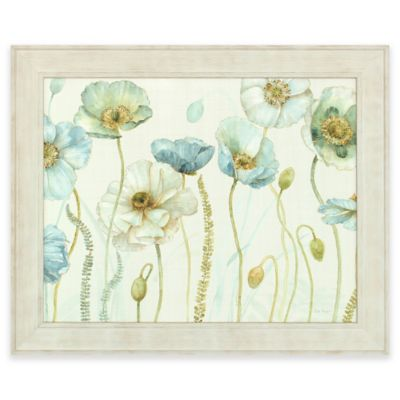 Framed Greenhouse Flower Wall Art