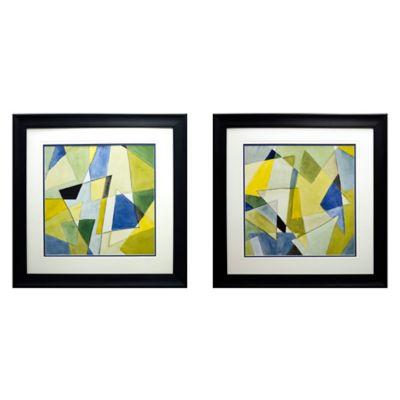 Coalescing Angles I and II Wall Art (Set of 2)