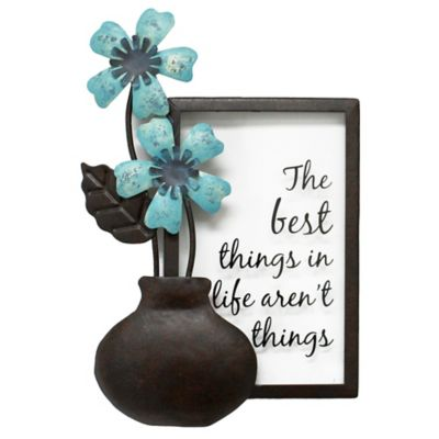 Pippin Best Things Mini Metal Wall Plaque