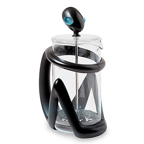 Alessi Inka Press Filter Dark Coffee Maker/ Infuser