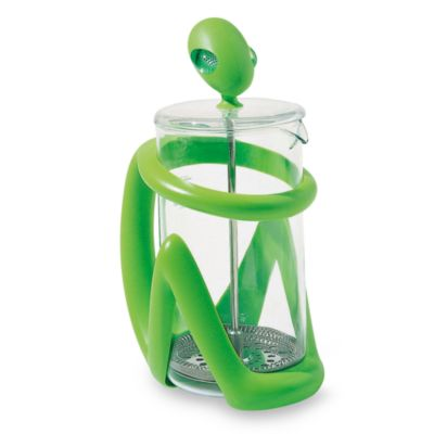 Inka Press Filter Green Coffee Maker/ Infuser