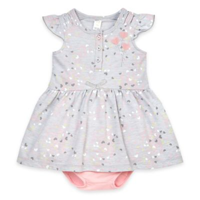 Petit Lem Dress and Diaper Cover Set