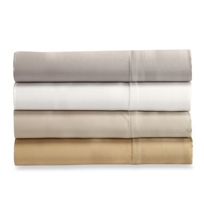 Valeron Estate Silk King Sheet Set in Pearl