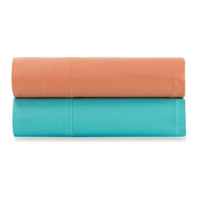 Wamsutta® 400-Thread-Count Sateen Full Sheet Set in Aqua
