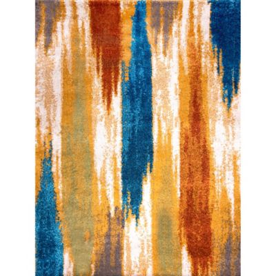 Four Season Shag Multicolor Area Rug