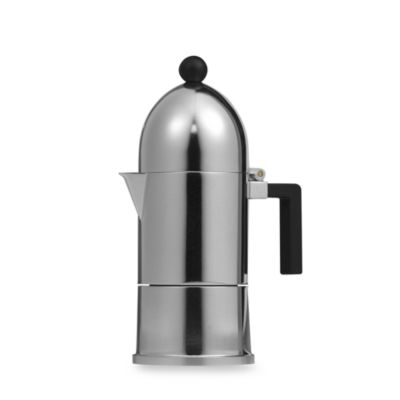La Cupola 3-Cup Espresso Machine by Alessi