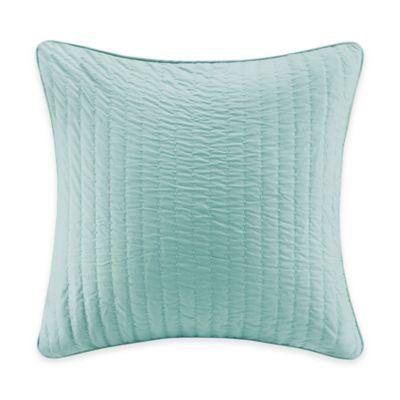 INK+IVY Mira European Pillow Sham in Blue