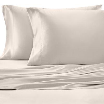 Valeron Estate Silk King Pillowcase in Platinum