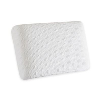 Sleep Philosophy Flexapedic Memory Foam Classic Pillow in White
