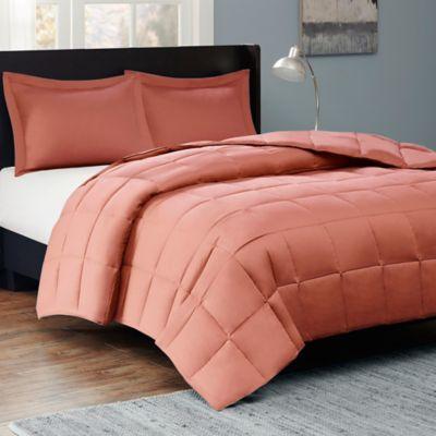 Sleep Philosophy Kasidy King Comforter Set in Orange