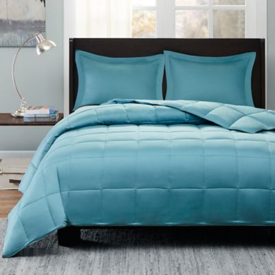Sleep Philosophy Kasidy Full/Queen Comforter Set in Teal