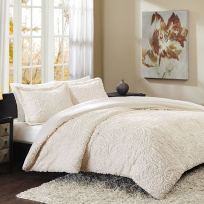 Madison Park Norfolk Full/Queen Comforter Set in Grey