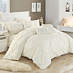 Chic Home Salvatore 10-Piece Queen Comforter Set in Beige