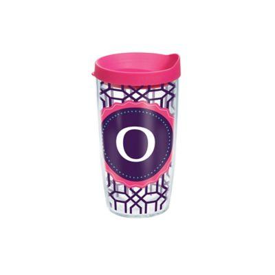 "Tervis® Octagon Monogram Initial ""O"" 16 oz. Tumbler"