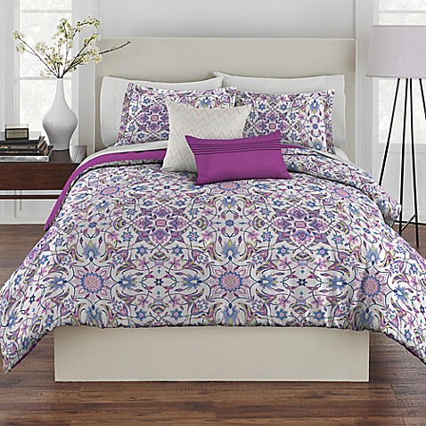 Rhapsody Ibiza Bedding Twin Purple