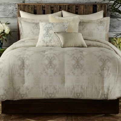 Tracy Porter® Gigi Reversible Twin Comforter Set in Tan