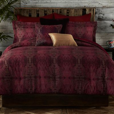 Tracy Porter® Gigi Twin Duvet Cover Set in Red