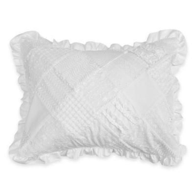 LaMont Home Poppy Standard Pillow Sham in White