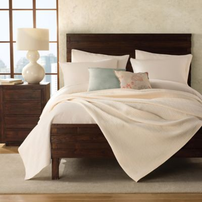Apricot Cotton Shams