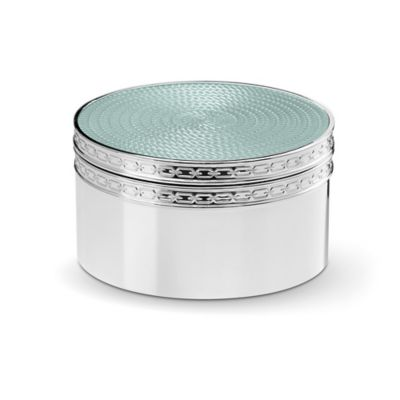 Vera Wang Wedgwood® With Love Nouveau Covered Box in Mist