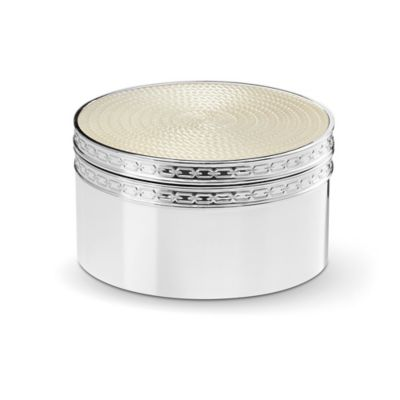 Vera Wang Wedgwood® With Love Nouveau Covered Box in Pearl