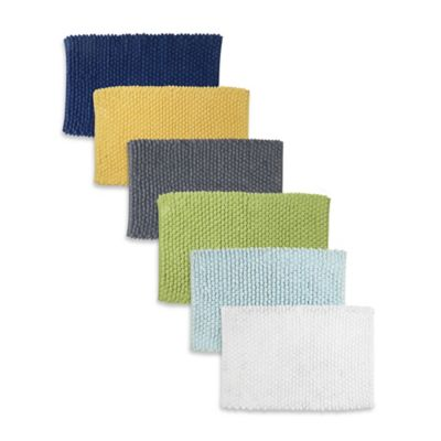 Park B. Smith® 21-Inch x 34-Inch Softe Bath Rug in Aquamarine